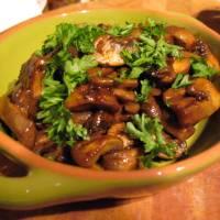 Tangy Mushroom Tapas