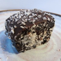 Lamingtons (or coconut and chocolate sponge squares to any non-Australians)