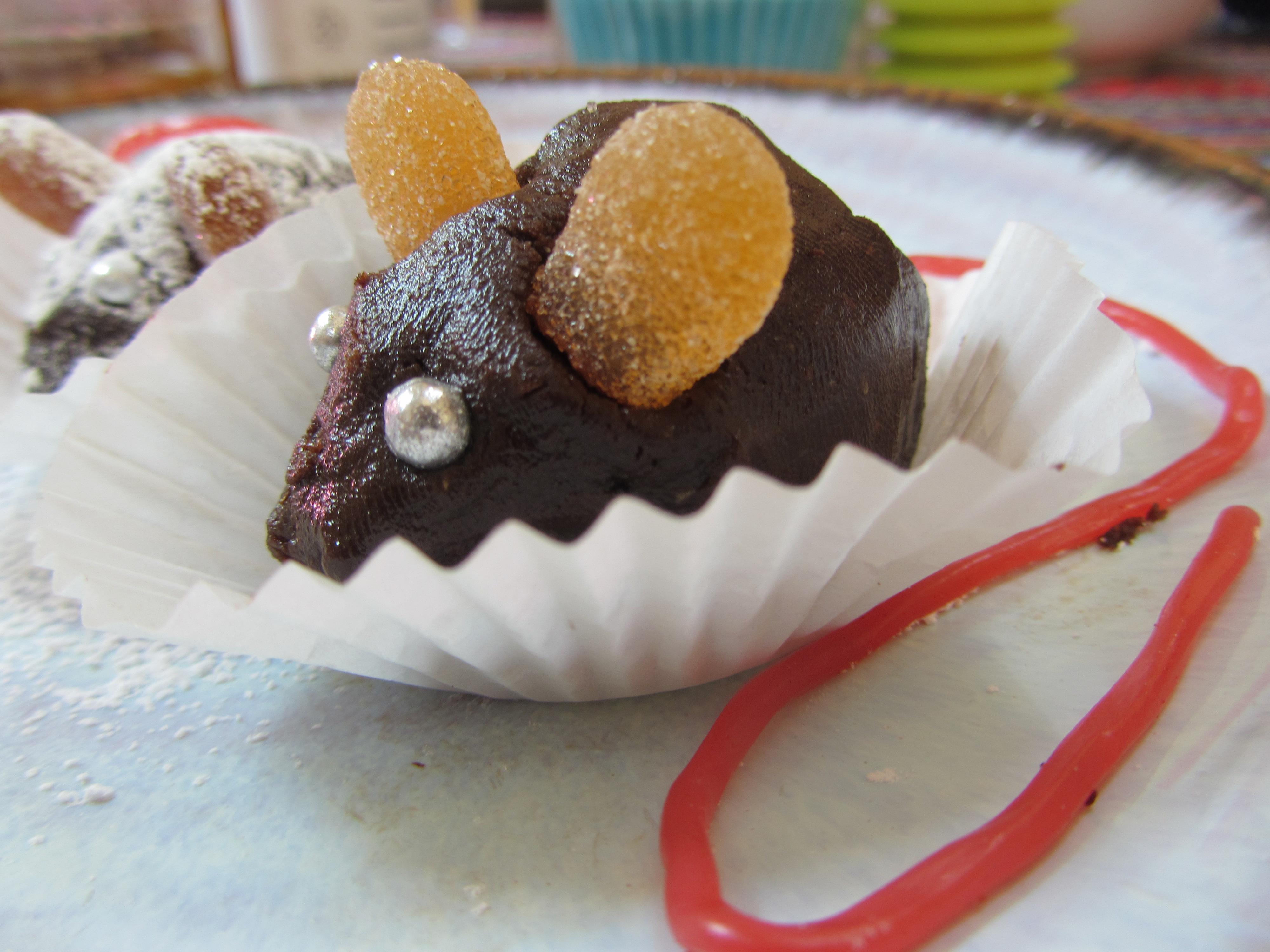 Cute Chocolate Mice