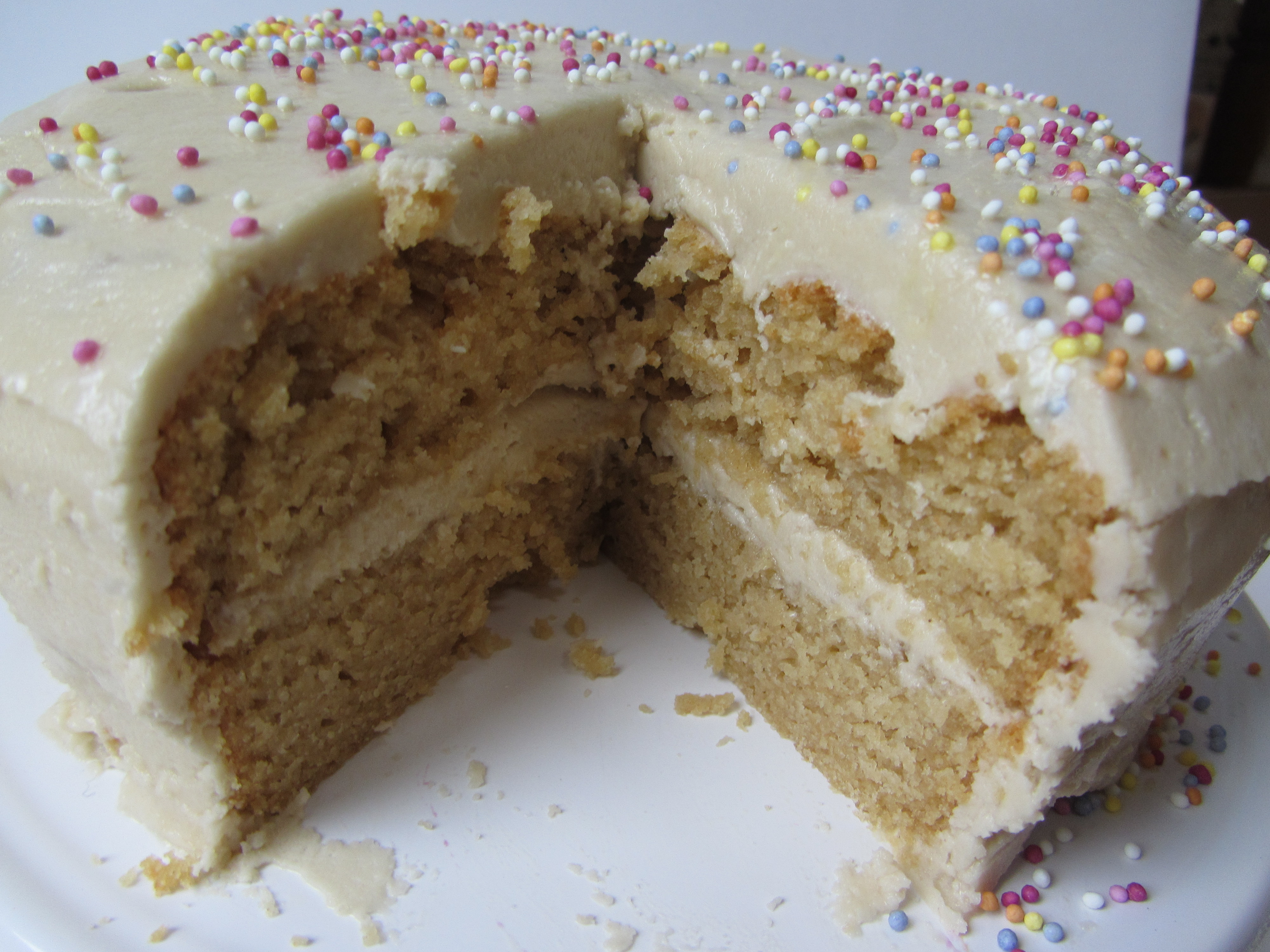 Dairy and egg free cakes recipe