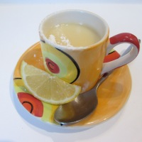 Dairy-free Lemon Posset