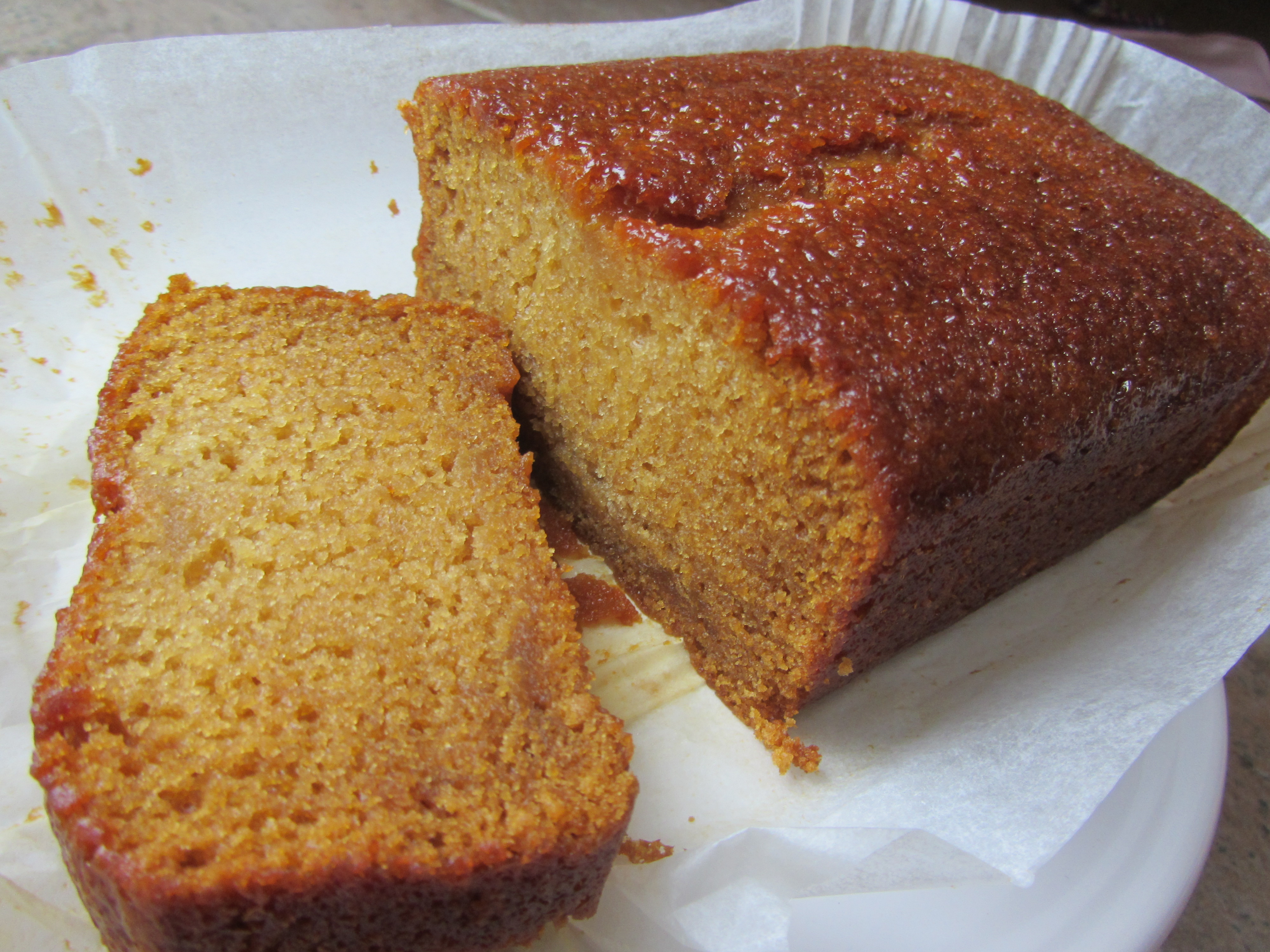 Egg Free Golden Syrup Cake