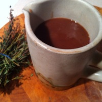 Thyme and Redcurrant Gravy