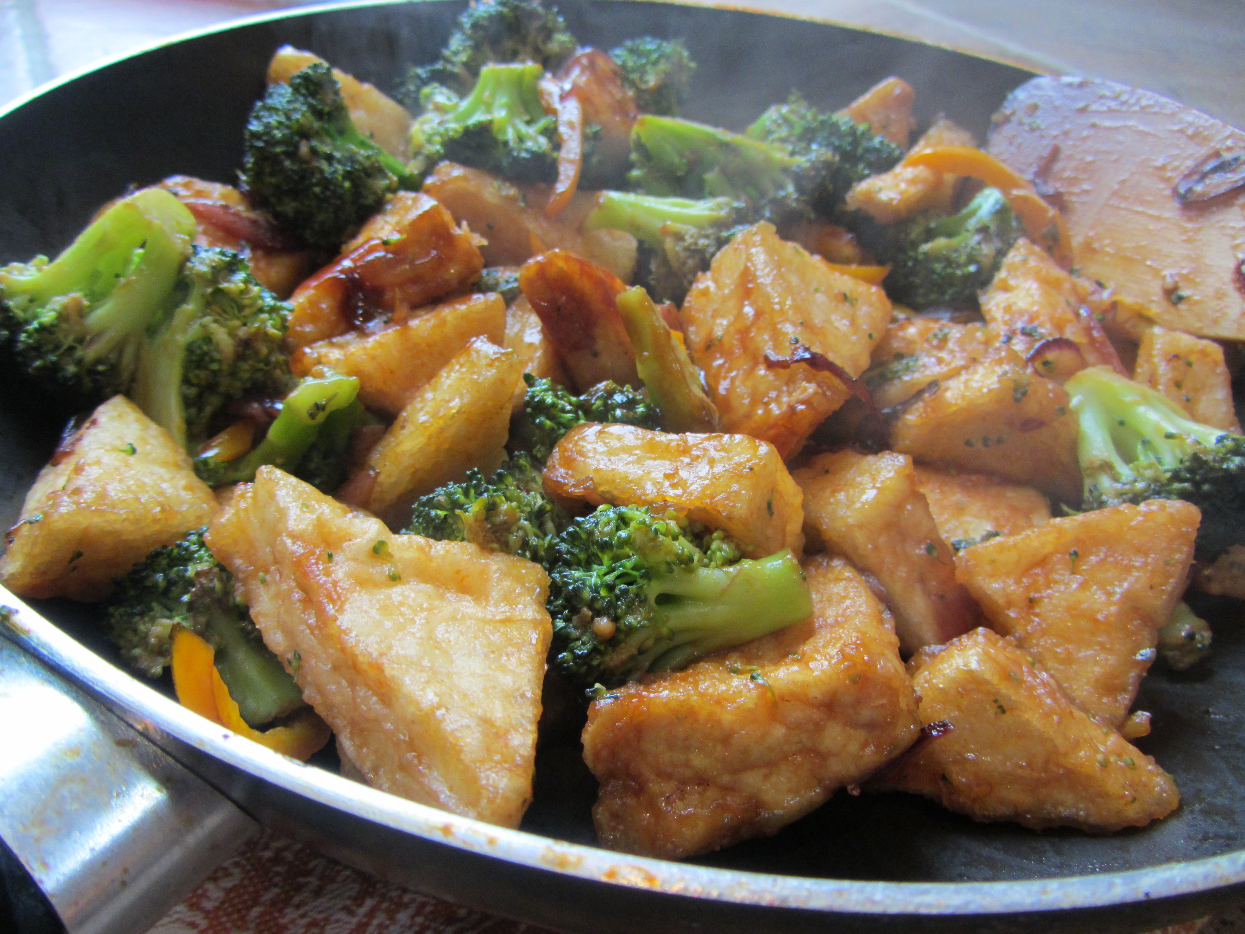Sweet and Sour Tofu and Broccoli | Lucy's Friendly Foods