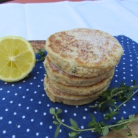 Lemon and Thyme Welsh Cakes