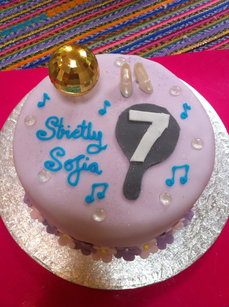 Strictly Come Dancing Birthday Cake Lucy S Friendly Foods