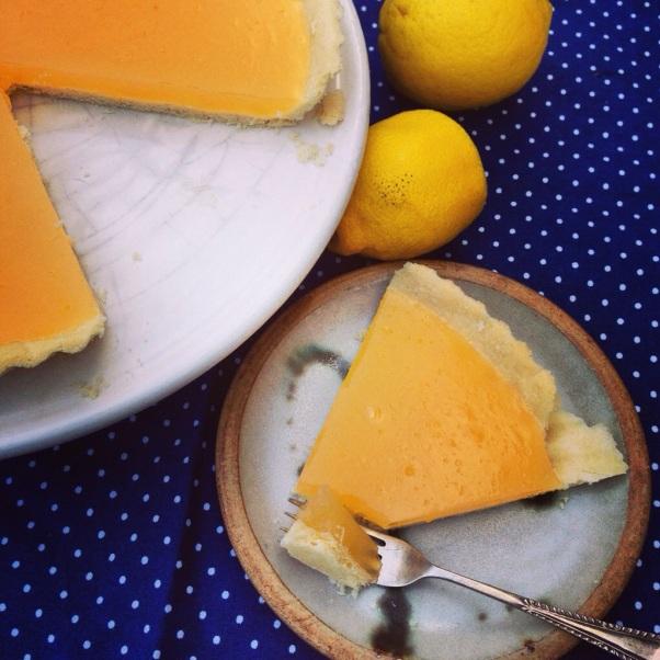 Tarte au Citron AKA Luscious Lemon Tart