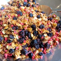 Very berry granola