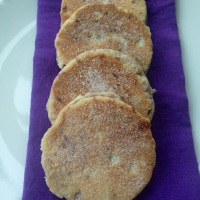 Raspberry and White Chocolate Welsh Cakes