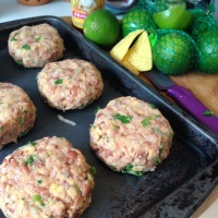 The Best Spicy Bean Burgers, Mexican Style