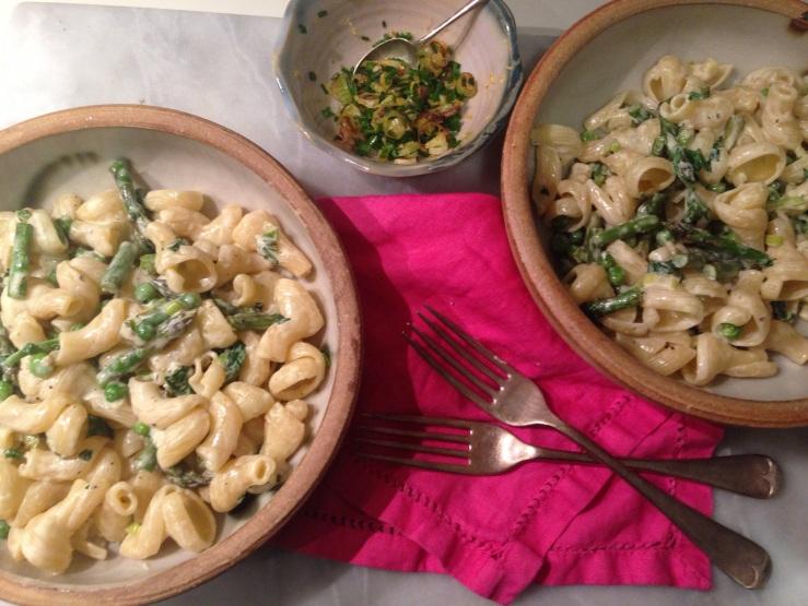 dairy-free pasta primavera