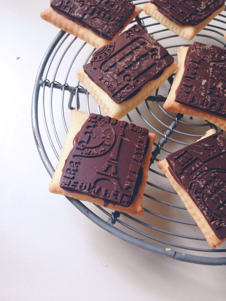 dairy-free petit beurre biscuits