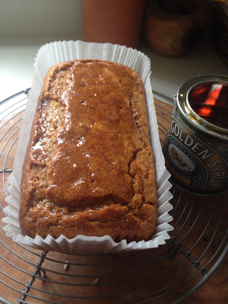 vegan golden syrup cake