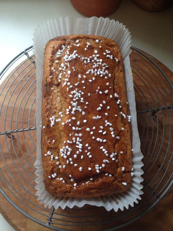 vegan syrup cake