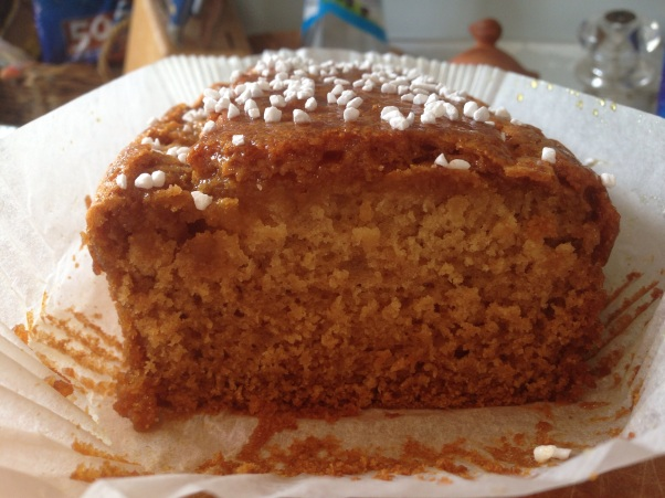 sticky syrup cake dairy-free and egg-free