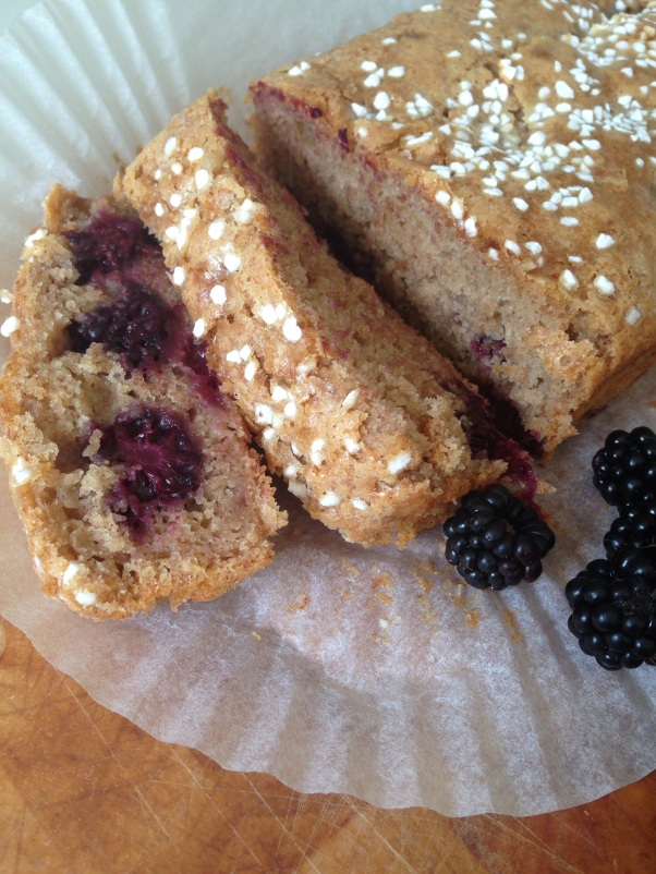 dairy-free blackberry cake