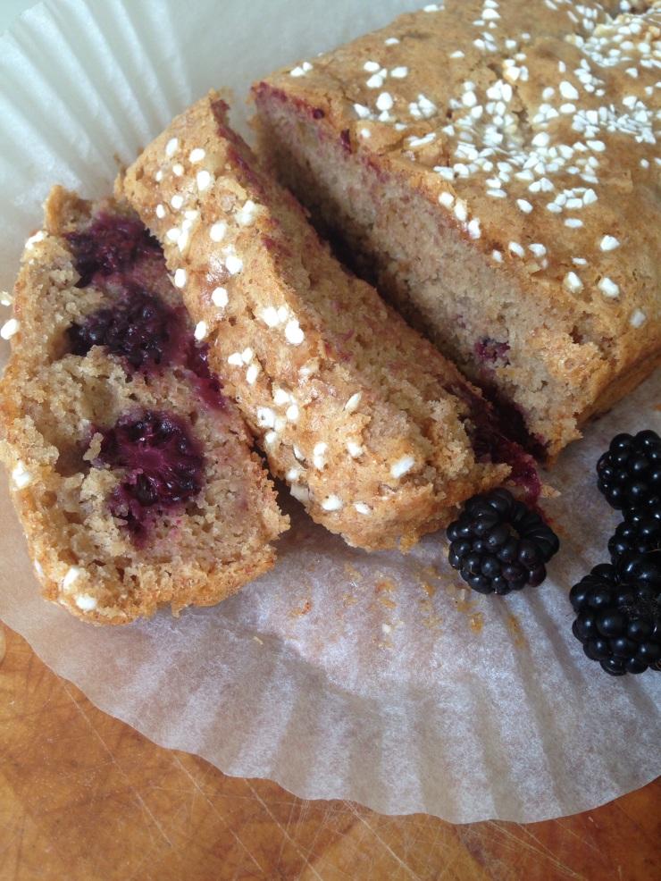 dairy-free blackberry cake
