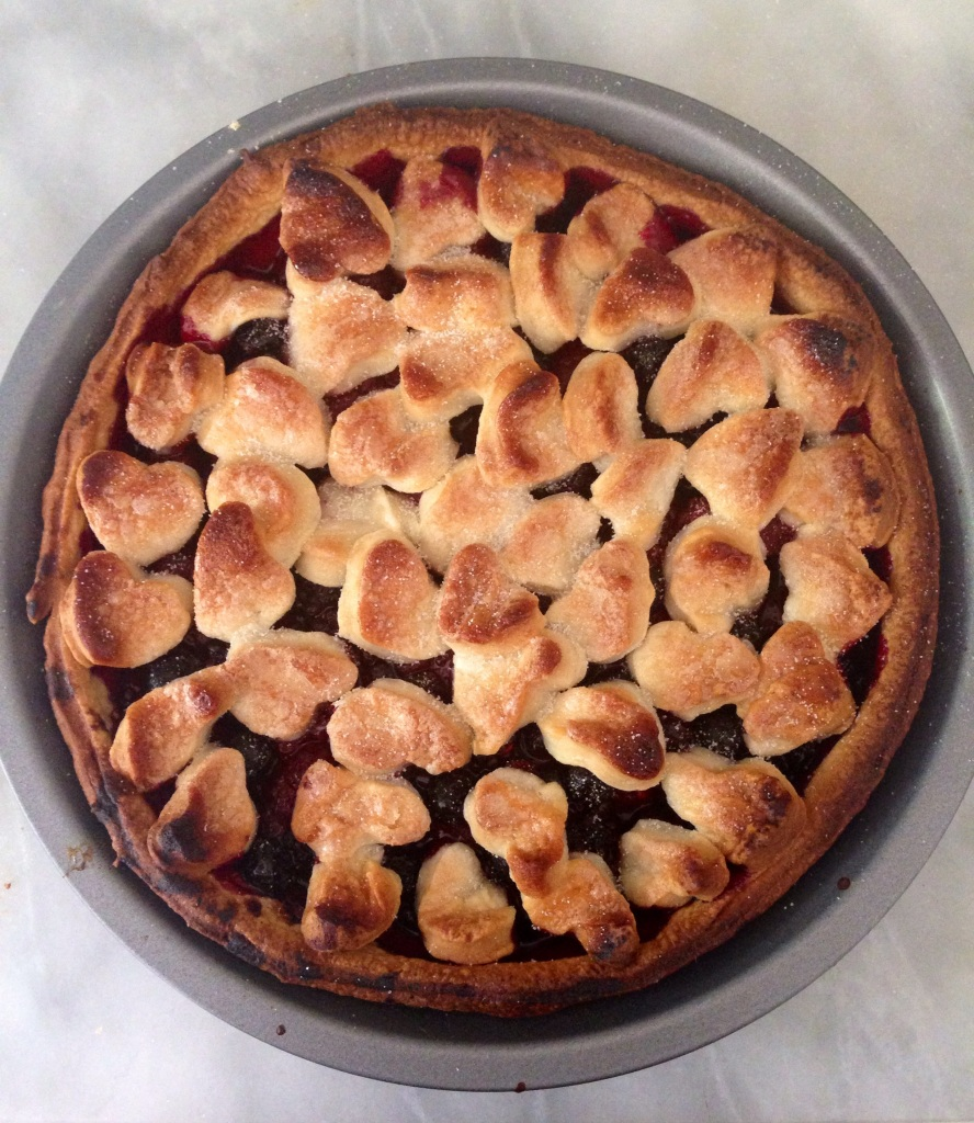 vegan blackberry pie