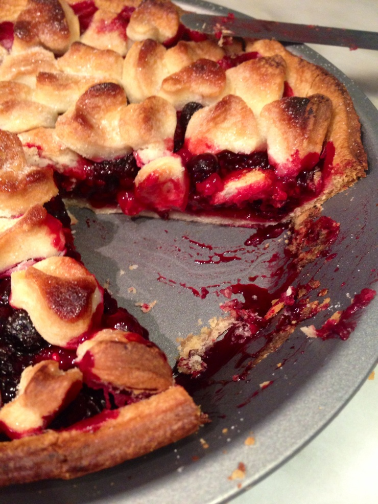berry pie, egg-free