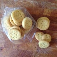 Mini cheddars, dairy free!