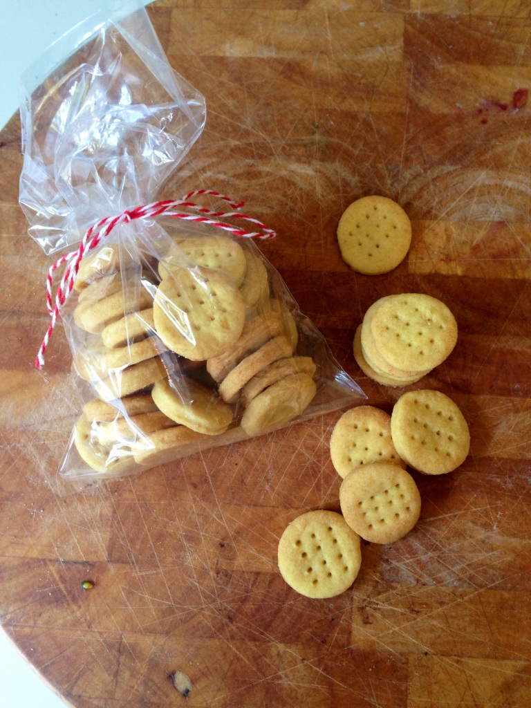 egg-free, nut-free homemade mini cheddars