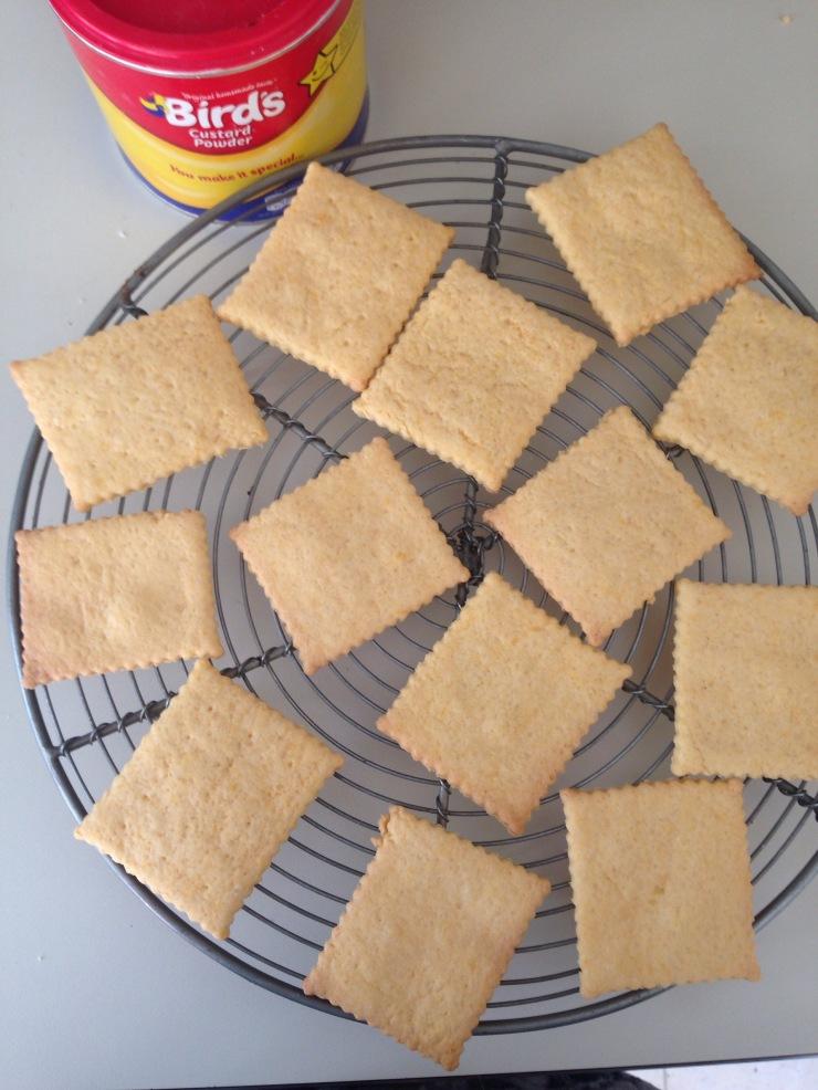 dairy-free custard wafers