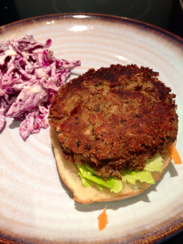 dairy-free, egg-free veggie burgers