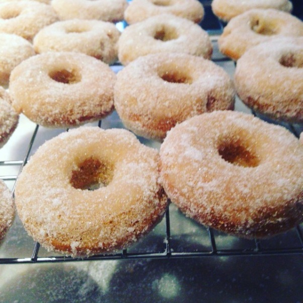 egg-free sugar donuts
