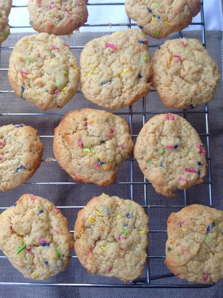 vegan lemon and ginger cookies