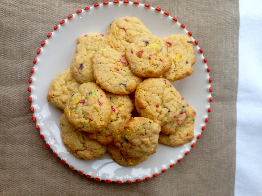dairy-free, egg-free lemon and ginger cookies