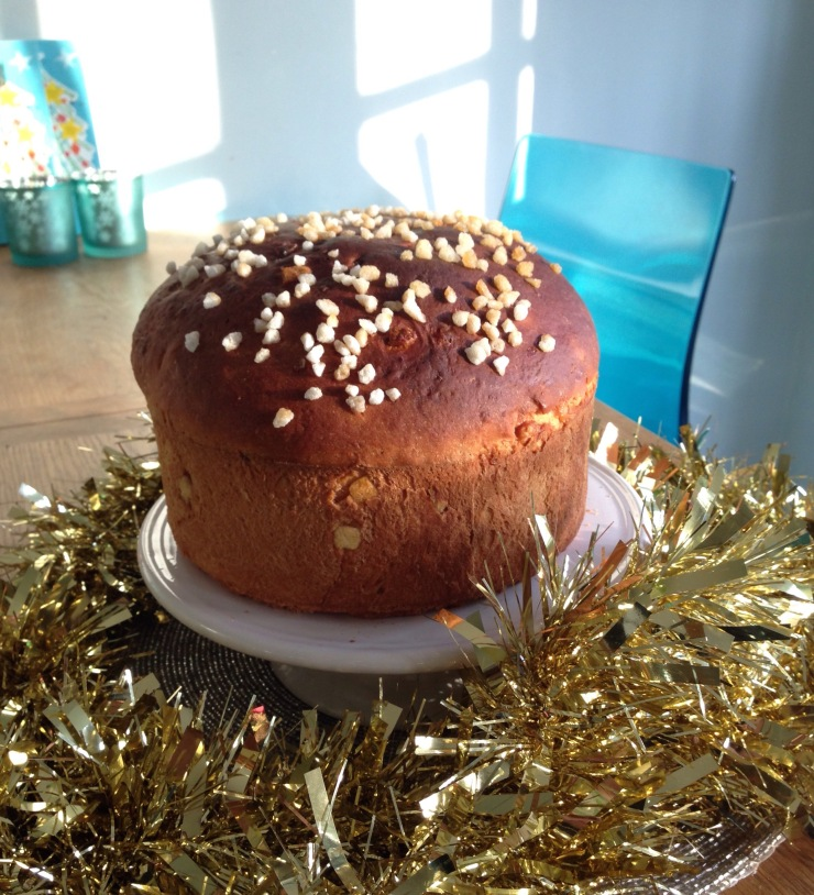 dairy-free, egg-free citrus panettone