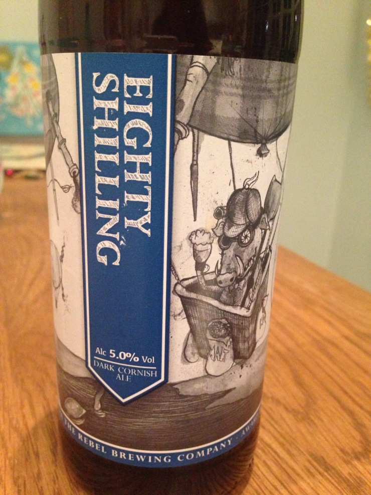Rebel Brewing Company eighty Shilling
