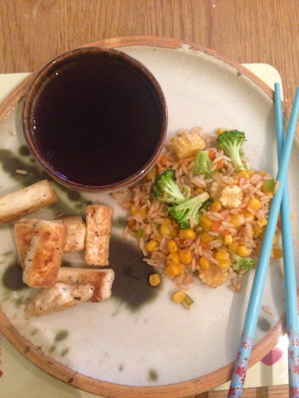 vegetarian salt and pepper squid