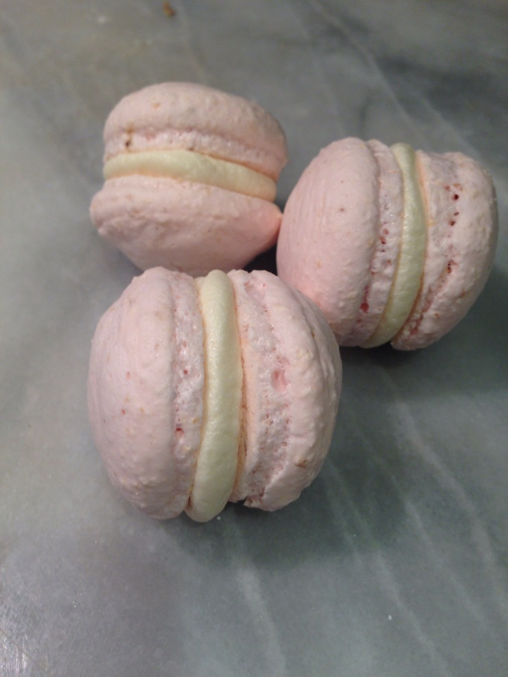 vegan no-nuts macarons