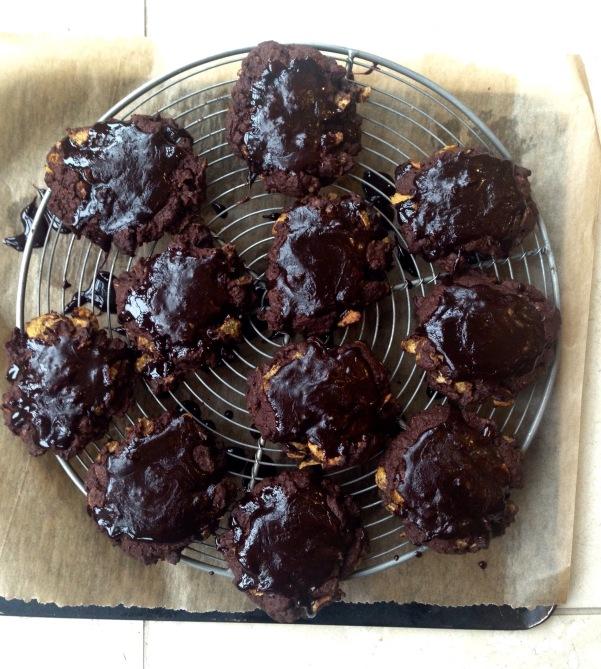 vegan cornflake cookies