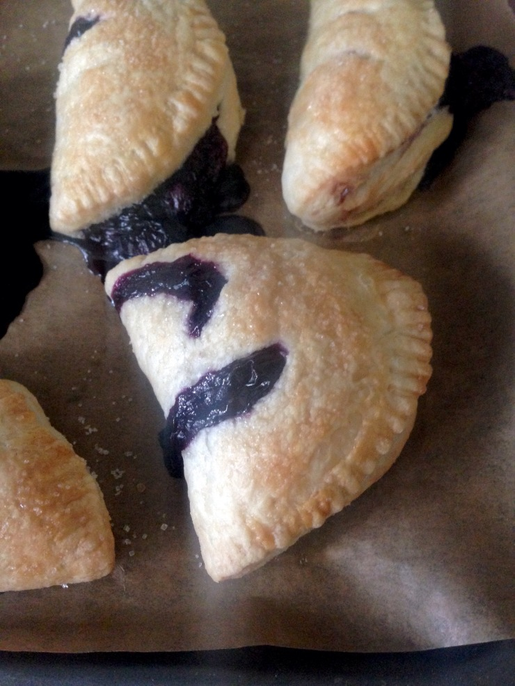 blueberry turnovers, dairy-free egg-free
