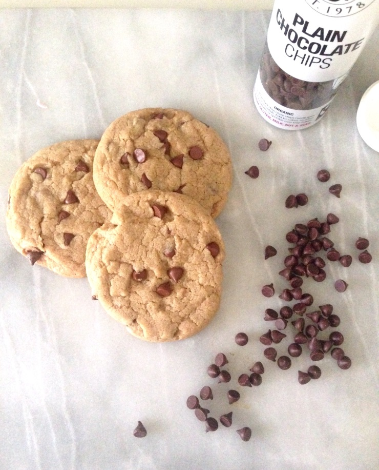 dairy-free chocolate chip cookies