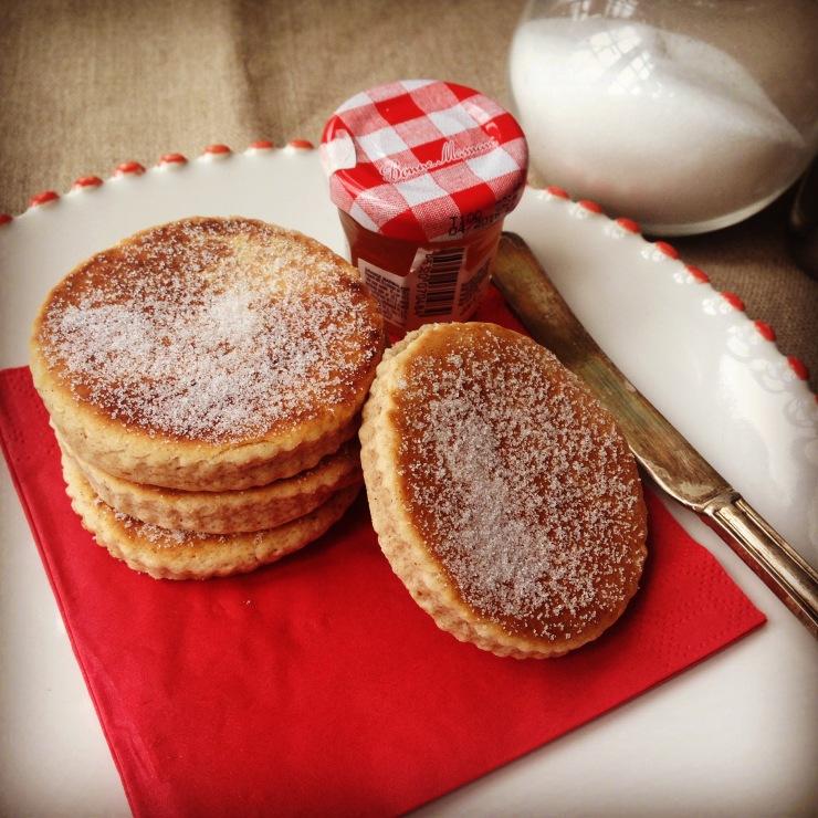 Dairy-free cinnamon welsh cakes