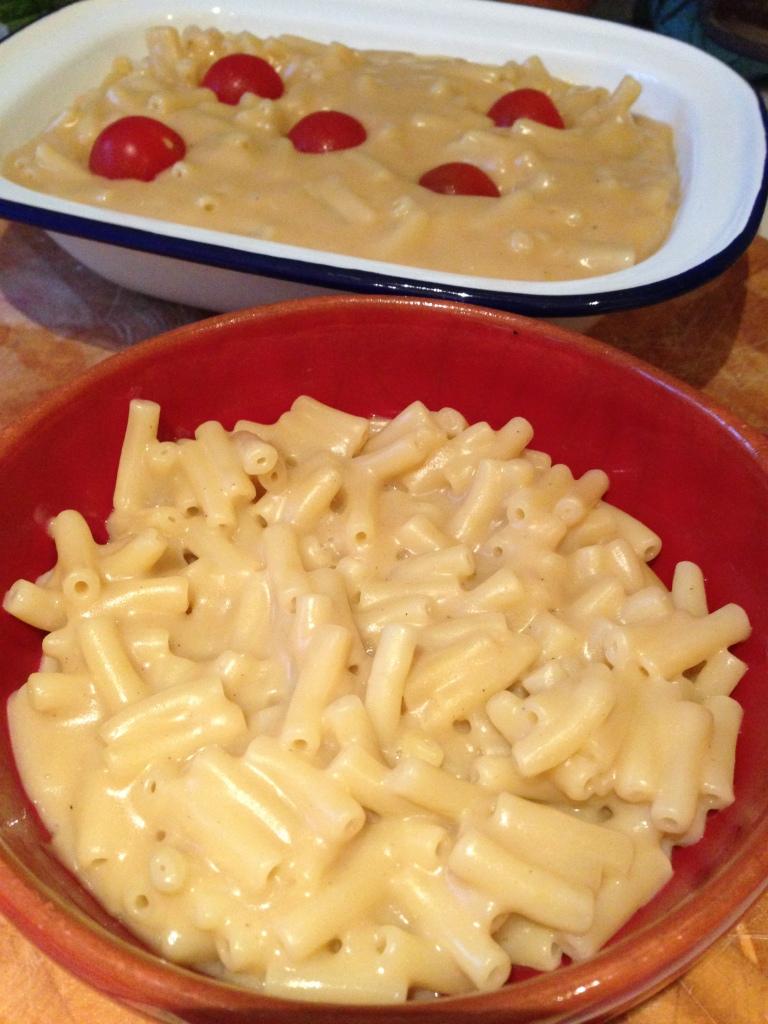 cheese-free mac and cheese