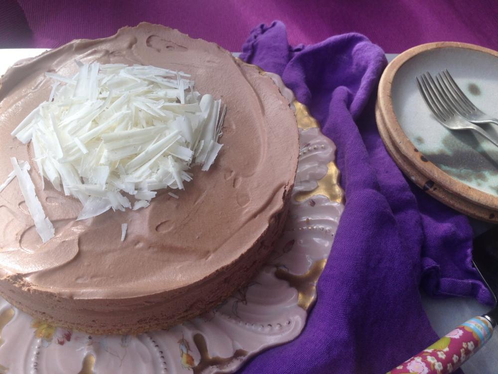 egg-free chocolate mousse cake