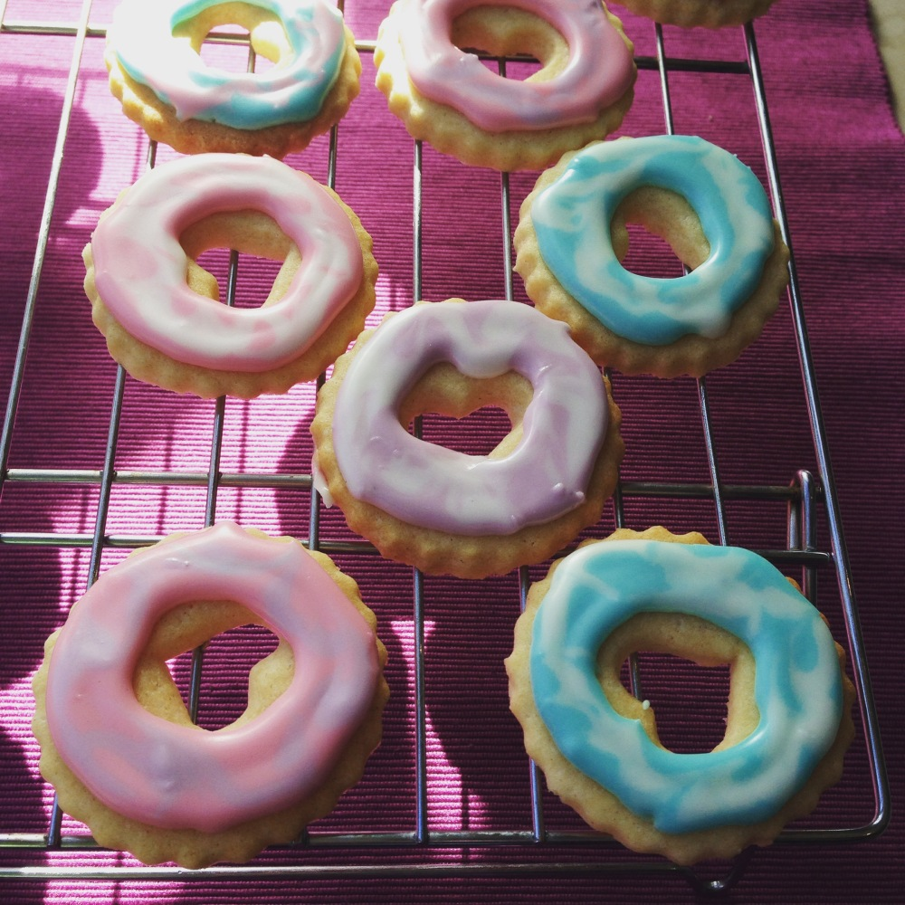 homemade party rings, nut-free