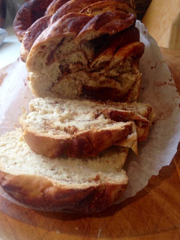 dairy-free brioche loaf