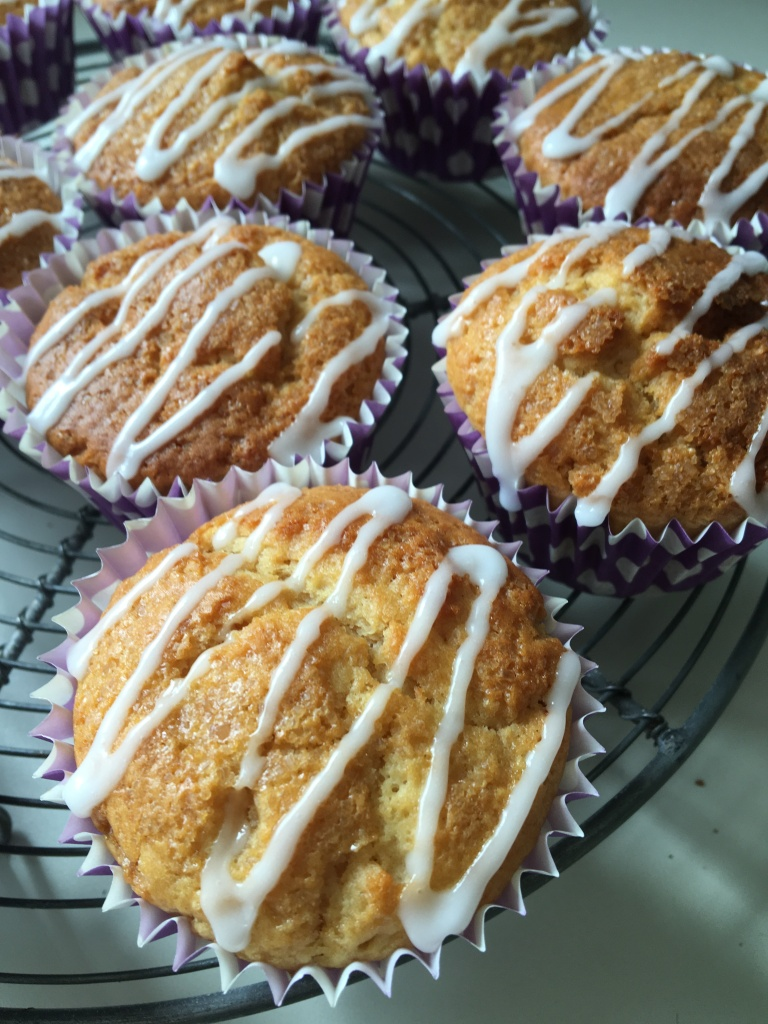 dairy-free gingerbread muffins