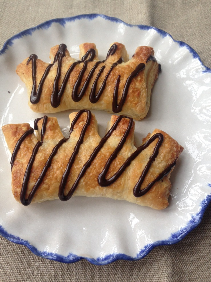 vegan chocolate danish