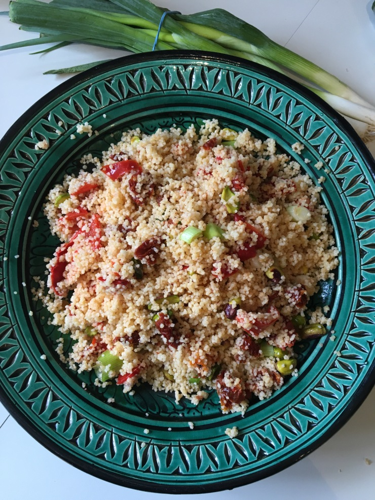 antipasti jewelled couscous