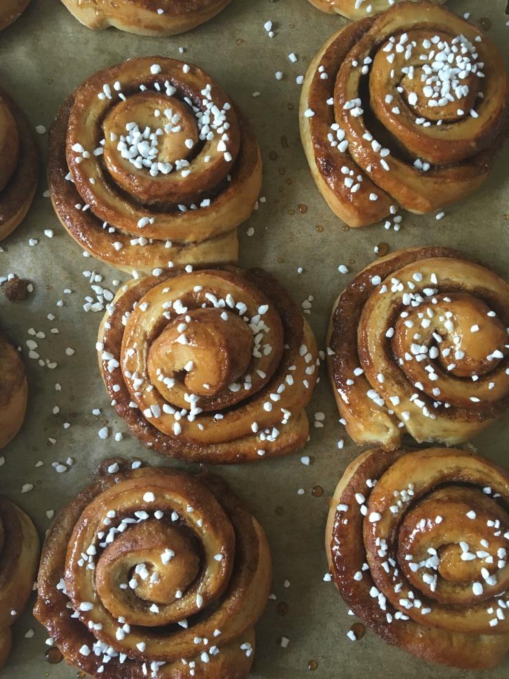 dairy-free swirl buns