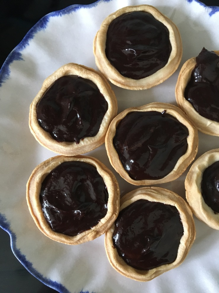 vegan chocolate tarts