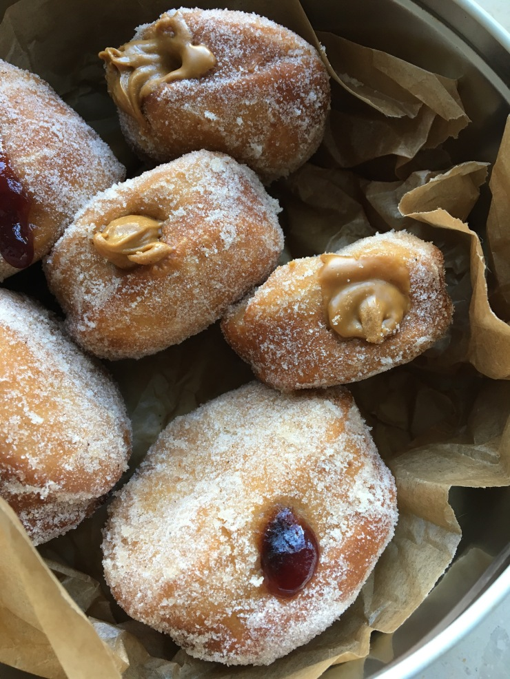 vegan fried donuts