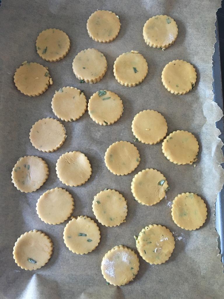 savoury biscuits, dairy-free