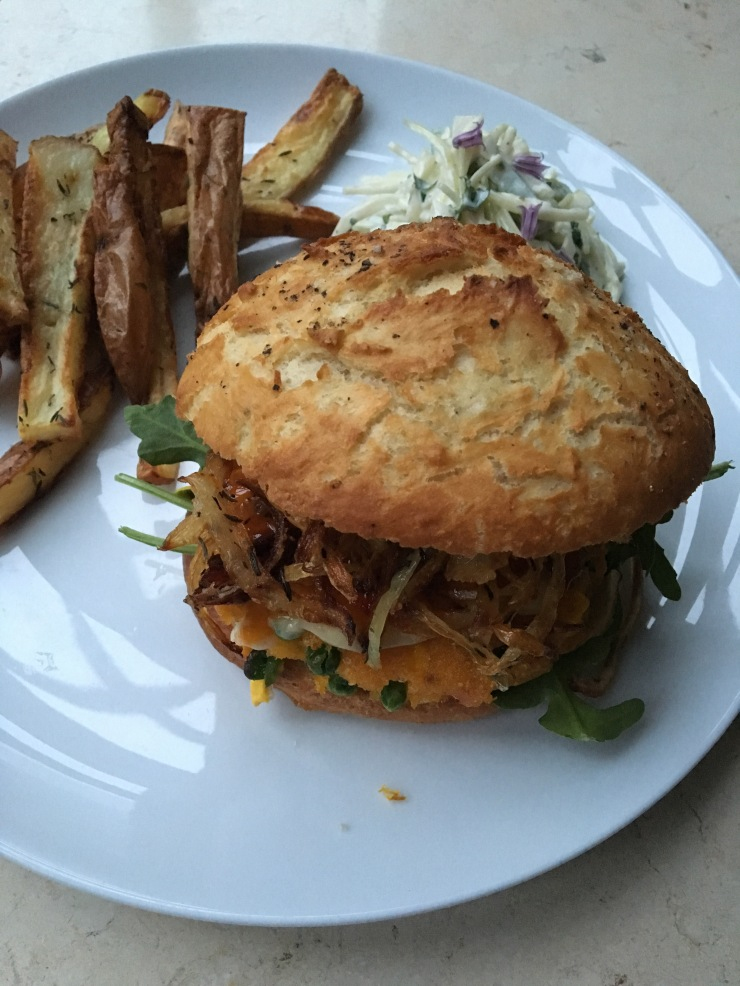 veggie garden burger, dairy-free, egg-free